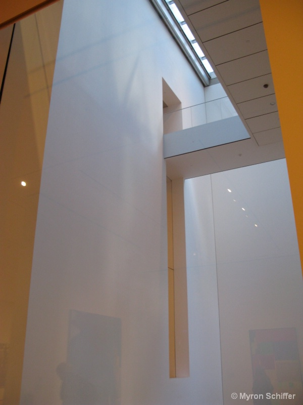 Architetural Detail at MoMA, NYC, No. 504