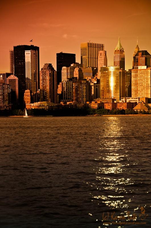 Golden Hour in New York