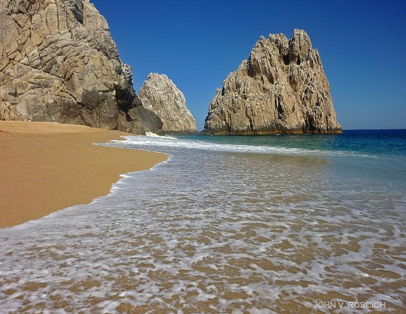 SEA, SAND, SOLITUDE.