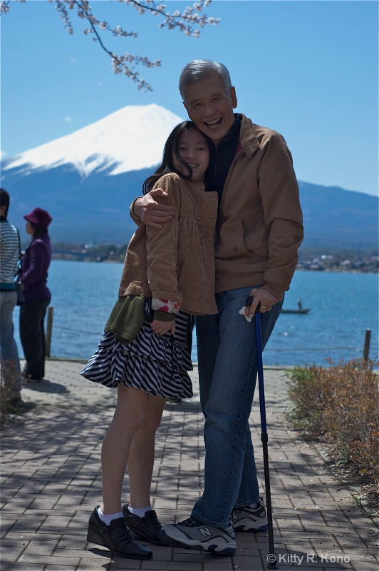 Ken and Yumiko at Mt. Fuji