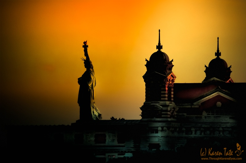 The Sun Never Sets On Lady Liberty