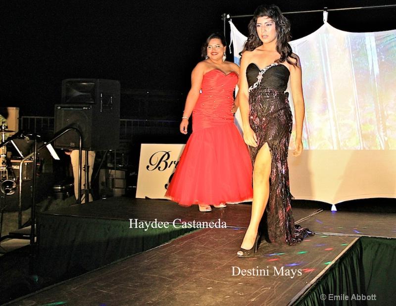 Haydee Castaneda & Destini Mays