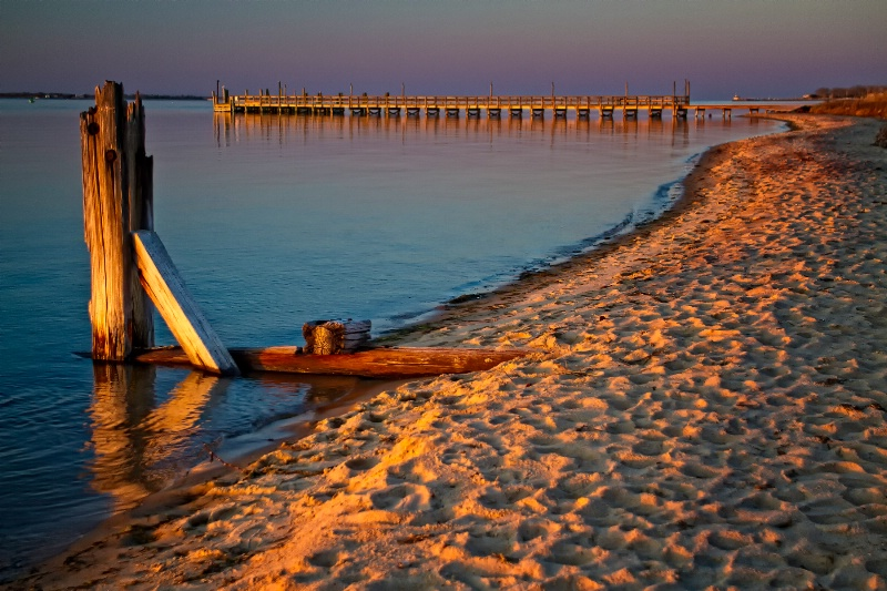 Sunset On Fire Island
