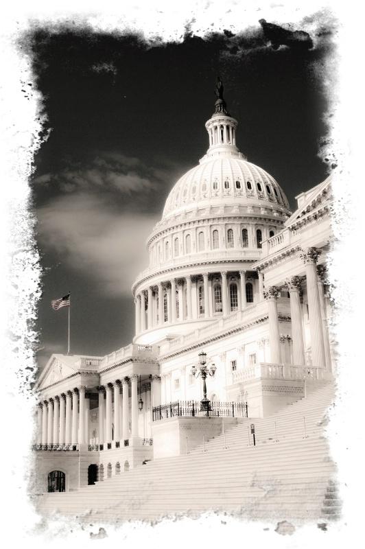 U.S. Capital Artwork-- Framed