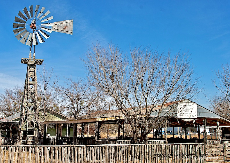 Sonora, Texas Windmill