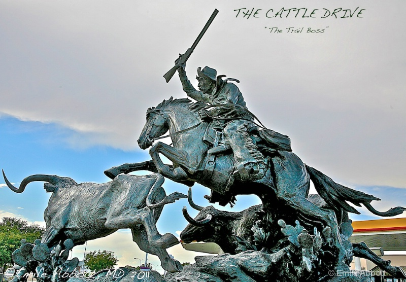 """The Cattle Drive Trilogy """"The Trail Boss"""""""