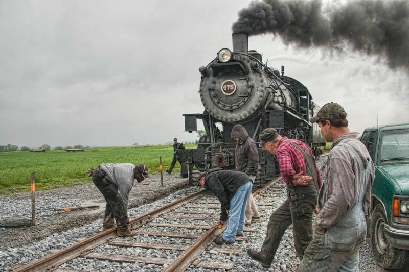 Strasburg Railway - New Track