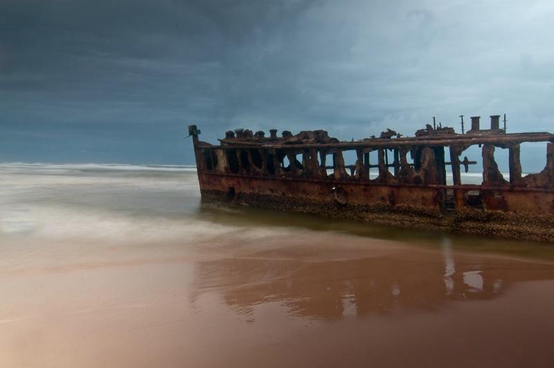 Shipwreck- Fraser Island Australia