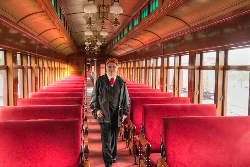 Strasburg Railway Conductor