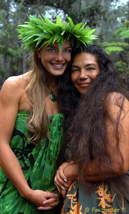 Pauahi and Mom