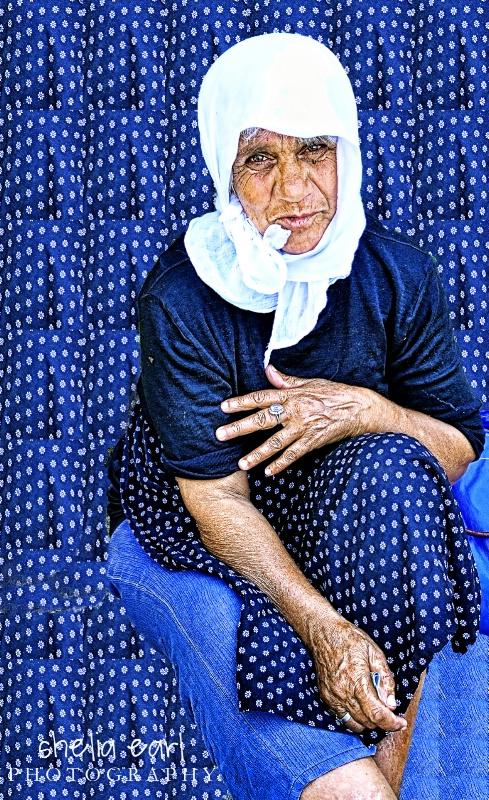 Albanian Woman@@Kruja, Albania
