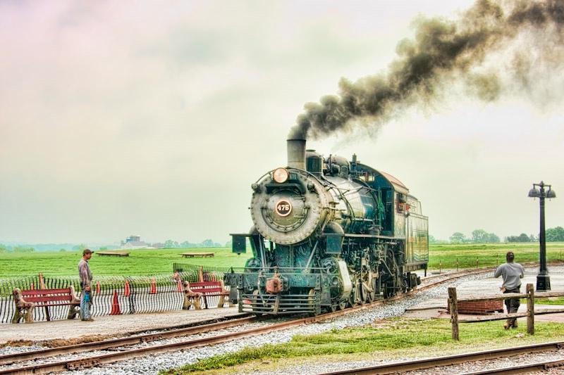 Strasburg Railway - Checking the Track