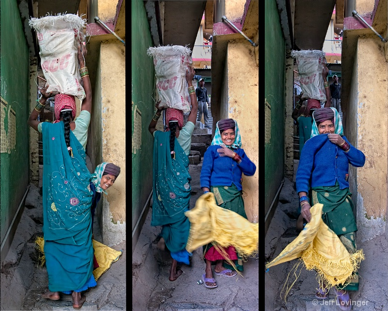 Surprise Triptych, McLeod Ganj, India