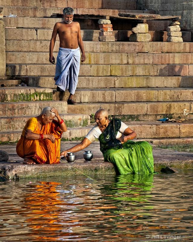 Morning Ablutions, Varanasi, India
