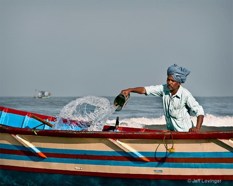 Boatman, Gokarna, India