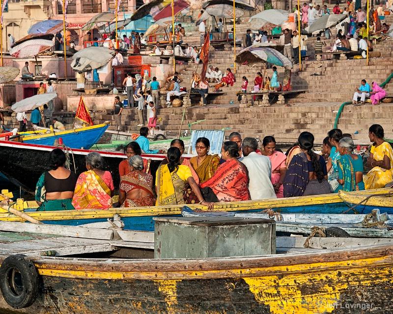 Women in Ganges Boat