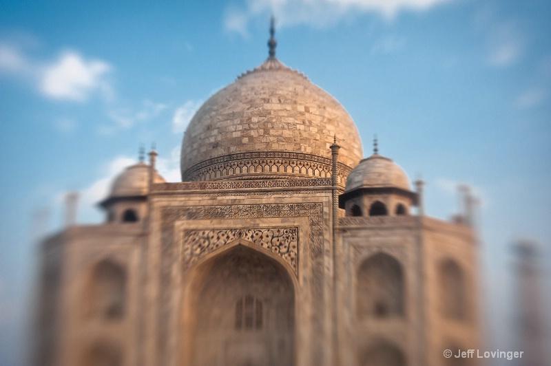 Taj Closeup, India