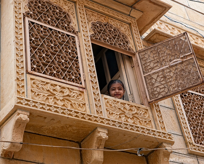 Girl in Haveli, Rajasthan. India