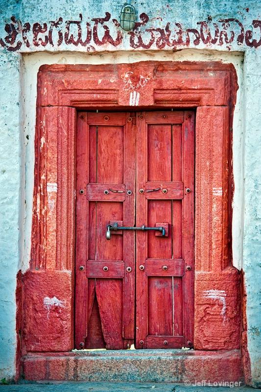 Red Door, Rajasthan, India