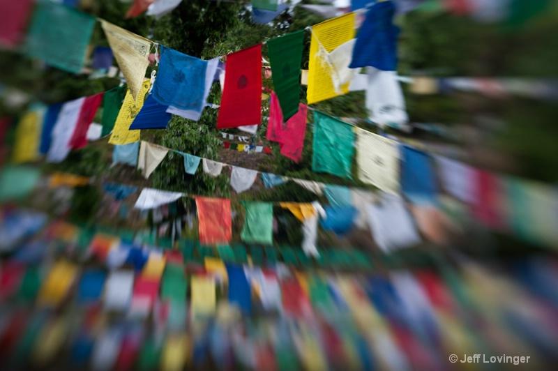 Tibetan Prayer Flags, Mcleod Ganj, India