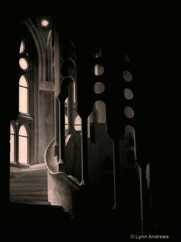 Sagrada Familia Dark Passage II
