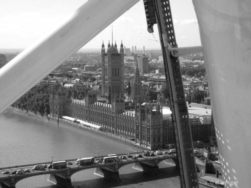 The Big Eye aka The Millennium Wheel London 1611bw