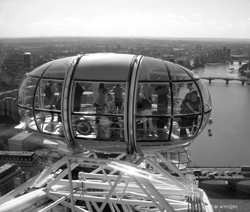 The Big Eye aka The Millennium Wheel London 1616bw