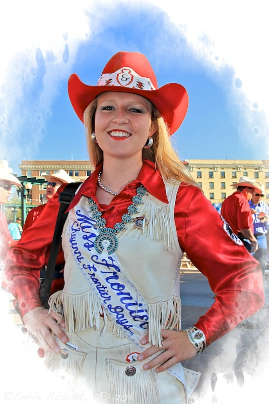 """Amy Berry """"Miss Frontier"""""""