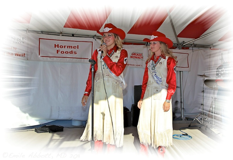 Miss Lady in Waiting & Miss Frontier