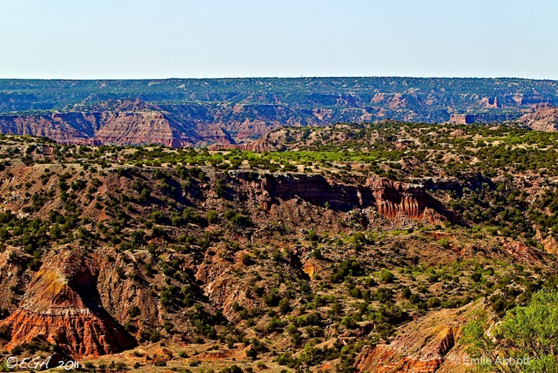 "Grand Canyon of Texas ""Palo Duro Canyon"""