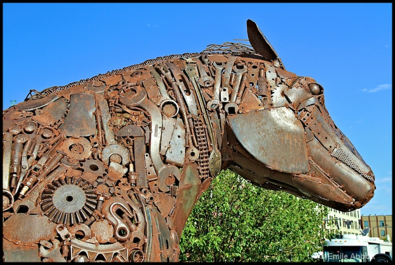 The Iron Horse Detail