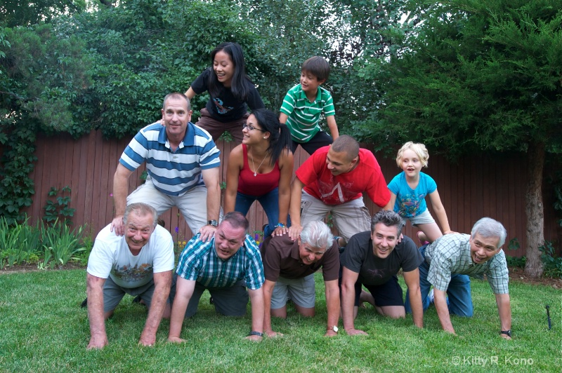 pyramid with the big boys