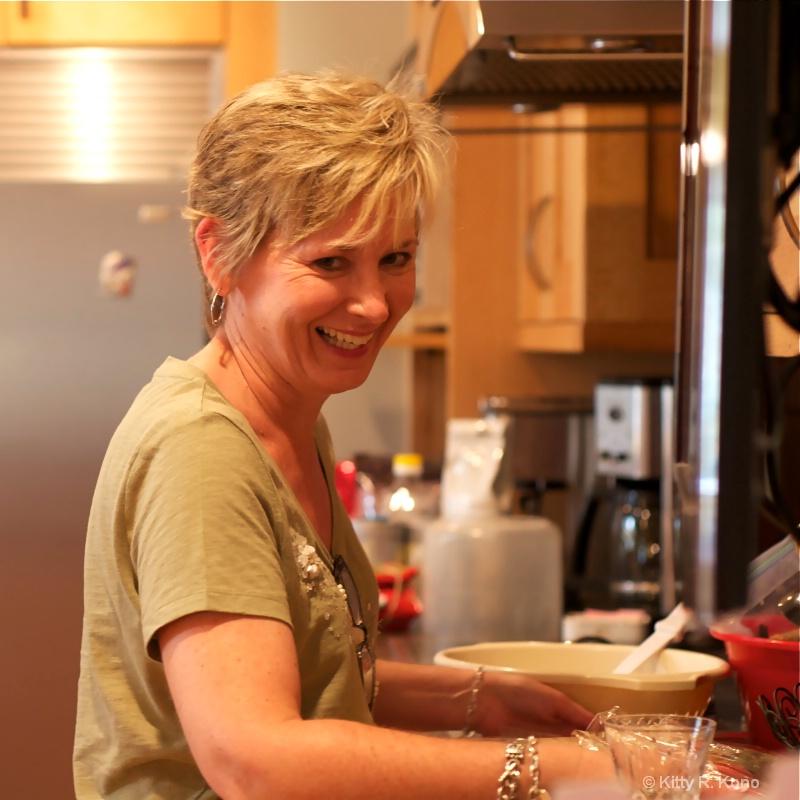 vicki in the kitchen