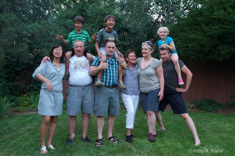 suzy  david  benny and zanne and families