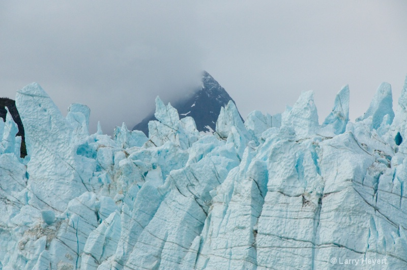 Iceberg at Glacier Bay National Park in Alaska