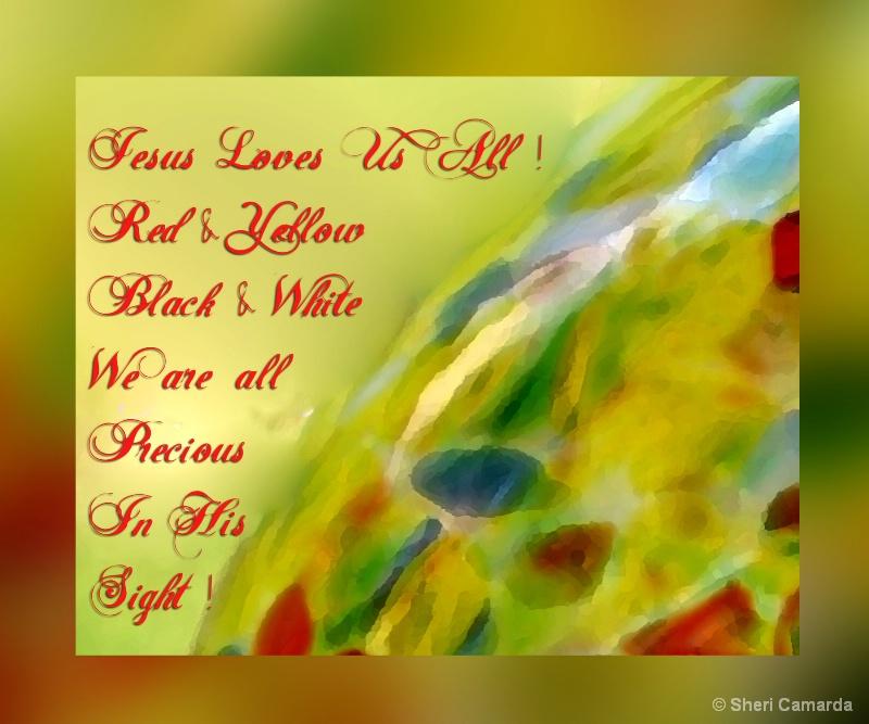 Jesus loves us all !  - S 025
