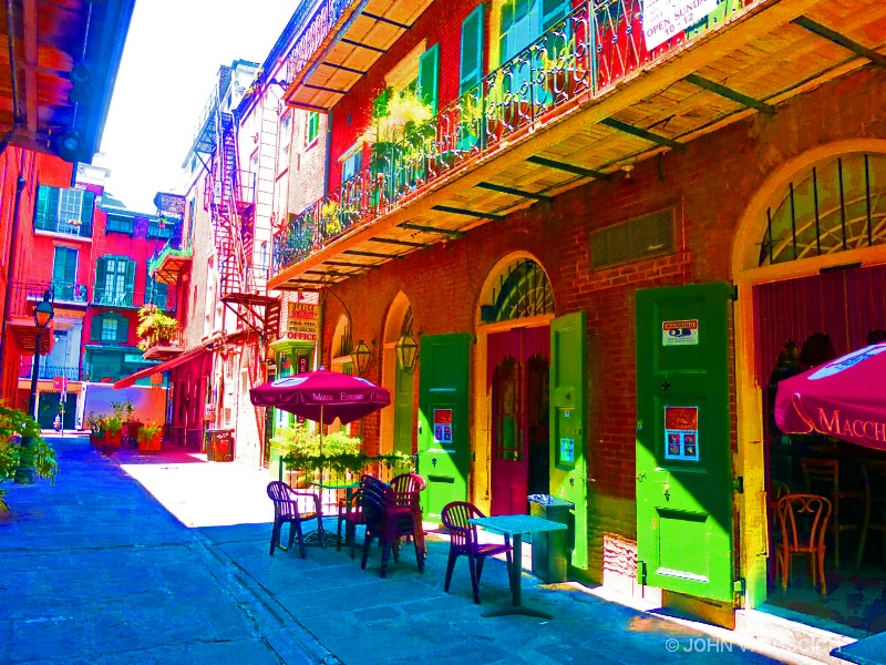 FRENCH QUARTER IN COLOR