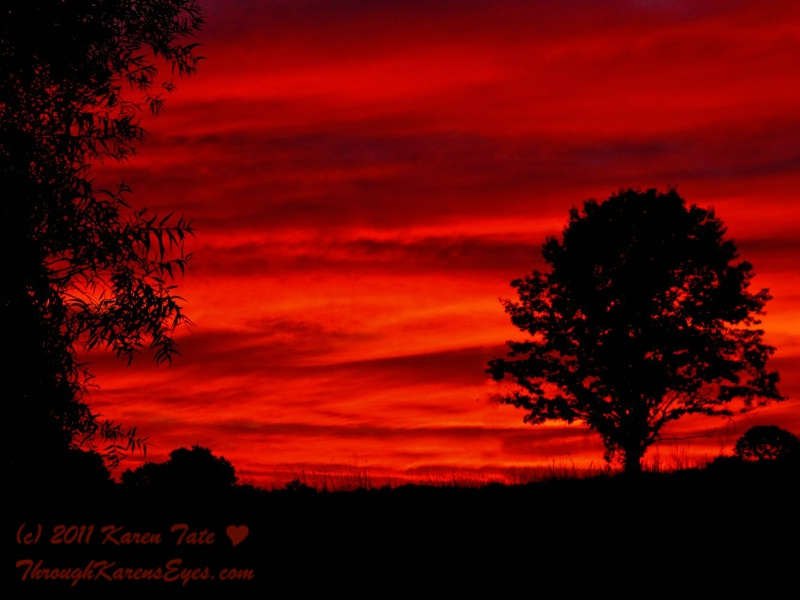 Sunrise at Marsh Creek