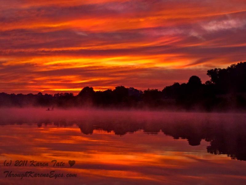 Sunrise Mist at Marsh Creek