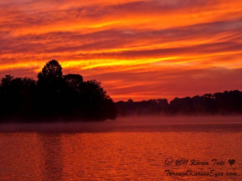 Fishing in Dawn's Early Light
