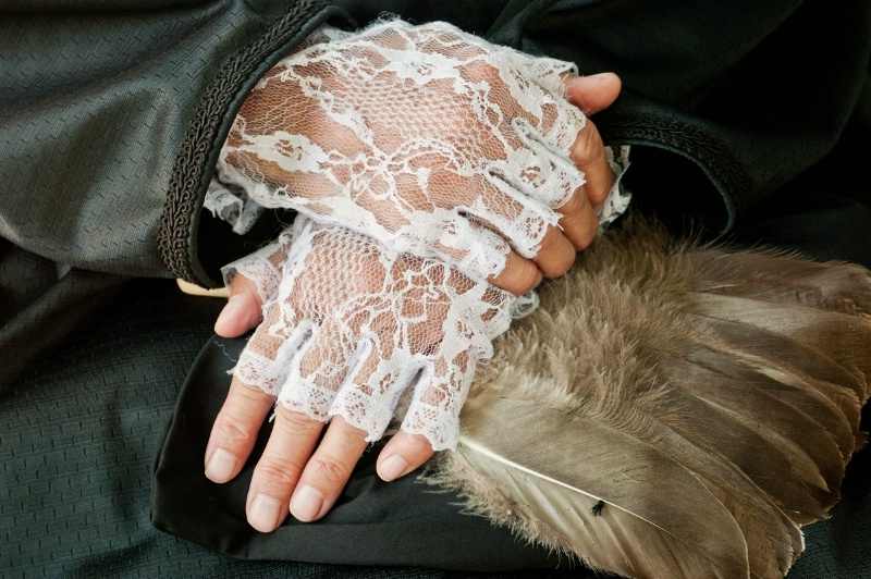 Lace Hands