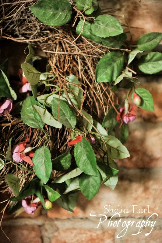 Wreath on the Balcony
