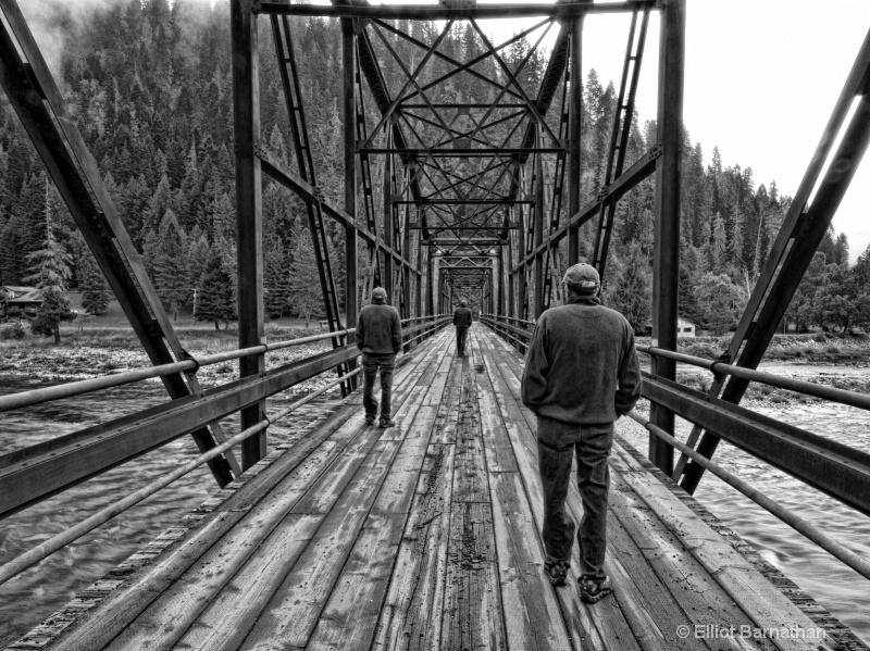 Bridge over the Selway 1