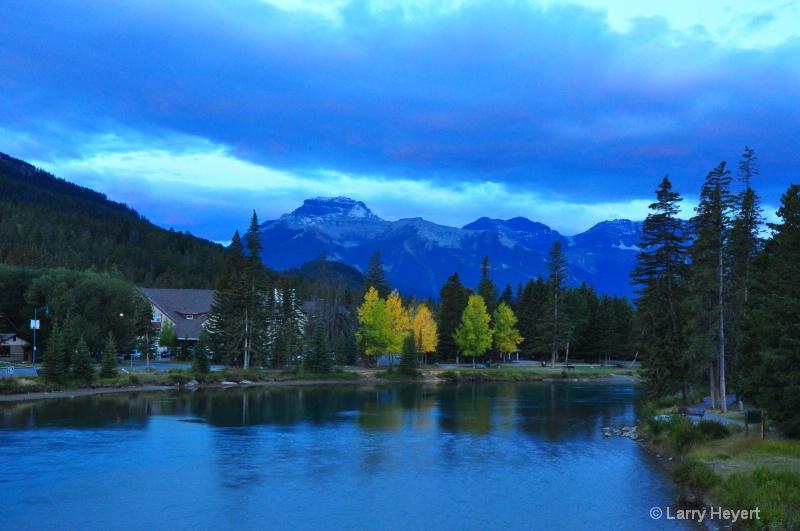 Sunrise in Banff National Park, Alberta, Canada