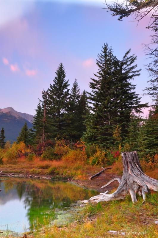 Beautiful Sunrise Colors- Banff National Park