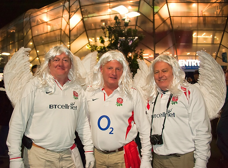 Must Have been a Bet - English Rugby Supporters