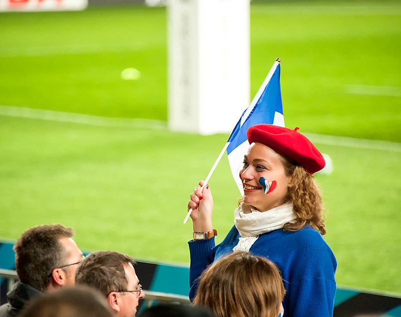 Patriotic French Supporter