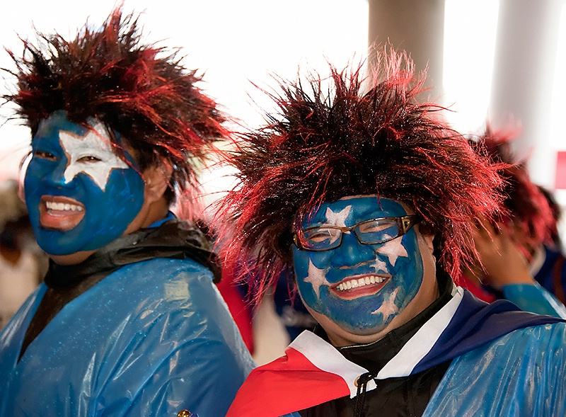 Samoan Fans - Rugby world Cup