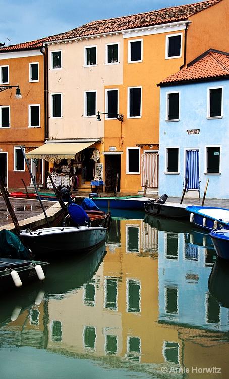 Canal Reflections - II