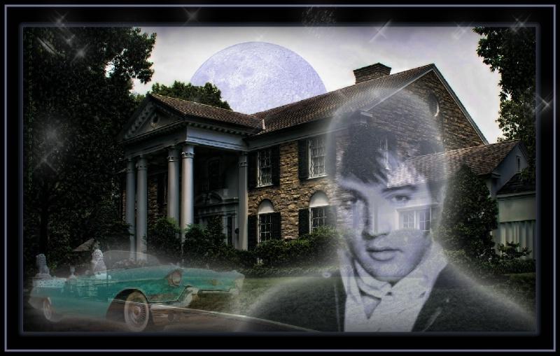 Elvis is IN the building!